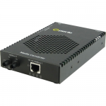 S-1110P-S2ST120 Media Converter - 1x PoE (RJ-45) Ports - 1 x ST Ports - 1000Base-ZX 10/100/1000Base-T - Rail-mountable Rack-mountable Wall Mountable