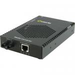 S-1110PP-S2ST120 Media Converter - 1x PoE+ (RJ-45) Ports - 1 x ST Ports - 1000Base-ZX 10/100/1000Base-T - Rail-mountable Rack-mountable Wall Mountable