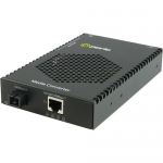 S-1110PP-S1SC20U Media Converter - 1x PoE+ (RJ-45) Ports - 1 x SC Ports - 10/100/1000Base-T 1000Base-BX-U - Rail-mountable Rack-mountable