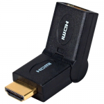 Swivel Adaptor - 1 x HDMI Male Audio/Video - 1 x HDMI Female Audio/Video