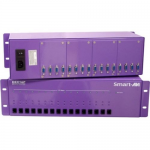 3U CHASSIS SUPPORTS 16 RECEIVERS & A REDUNDANT PS RECEIVER