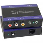 NTSC/PAL AUDIO IR CAT5 RECEIVER