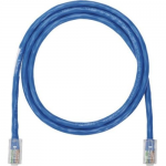 NetKey - Patch cable - RJ-45 (M) to RJ-45 (M) - 10 ft - UTP - CAT 5e - IEEE 802.3af/IEEE 802.3at/IEEE 802.3bt - snagless stranded - blue