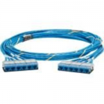 QuickNet Pre-Terminated Cable Assembly - Network cable - RJ-45 (F) to RJ-45 (F) - 14 ft - UTP - CAT 6 - plenum - blue