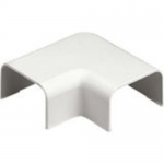 Standard Fitting for Low Voltage Applications - Cable raceway right angle fitting - international gray