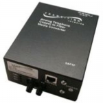 Stand-Alone POTS 2-Wire Copper to Fiber - Media converter - RJ-11 / SC single-mode - up to 12.4 miles - 1310 nm