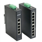 Industrial Stand-Alone Switch Extended Operating Temperature - Switch - 8 x 10/100 - desktop