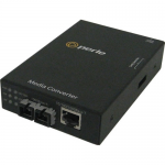 S-1110-S2ST10 Gigabit Ethernet Media Converter - 1 x Network (RJ-45) - 1 x ST Ports - 10/100/1000Base-T 1000Base-LX - External