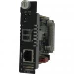 C-100-S2LC20 Media Converter - 1 x Network (RJ-45) - 1 x LC Ports - DuplexLC Port - 10/100Base-TX 100Base-LX - Internal