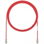 TX6-28 Category 6 Performance - Patch cable - RJ-45 (M) to RJ-45 (M) - 3 ft - UTP - CAT 6 - booted halogen-free stranded - red