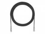 TX6A-28 Category 6A Performance - Patch cable - RJ-45 (M) to RJ-45 (M) - 15 ft - UTP - CAT 6a - IEEE 802.3af/IEEE 802.3at - booted halogen-free snagless solid - black