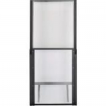 Net-Contain Hot Aisle Containment Adjustable Vertical Wall - Air containment wall - black