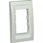 MINI-COM Classic and Executive Faceplate Frames - Faceplate - off white - 1-gang