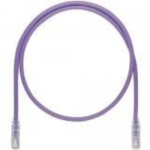 TX6A-SD 10Gig with MaTriX Technology - Patch cable - RJ-45 (M) to RJ-45 (M) - 10 ft - UTP - CAT 6a - IEEE 802.3af/IEEE 802.3at - booted snagless stranded - violet