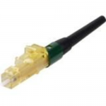 OptiCam - Network connector - LC/SPC multi-mode (M) keyed C (green) - fiber optic - 0.04 in / 125 micron - OM3/OM4 - booted snagless - green aqua