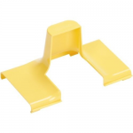 FiberRunner 4x4 Spill-Over Cover - Cable raceway spill-over junction - yellow