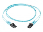 Opti-Core - Patch cable - SC multi-mode (M) to SC multi-mode (M) - 3 m - fiber optic - 50 / 125 micron - OM3 - riser - aqua