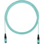 QuickNet - Network cable - PanMPO multi-mode (F) to PanMPO multi-mode (F) - 3.96 m - fiber optic - 50 / 125 micron - OM3 - indoor plenum round - aqua