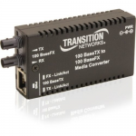 Stand-Alone Mini Fast Ethernet Media Converter - Fiber media converter - 100Mb LAN - 100Base-FX 100Base-TX - RJ-45 / SC single-mode - up to 12.4 miles - 1550 (TX) / 1310 (RX) nm