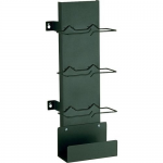 PAN-PUNCH 110 - Rack cable management kit (vertical) - black
