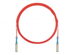 SFP+ Direct Attach Active Cable Assemblies - 10GBase direct attach cable - SFP+ to SFP+ - 15 ft - twinaxial - booted passive - red