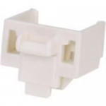 Jack Module Blockout Device - Jack module blockout - international white (pack of 10)