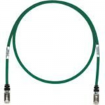 TX6A 10Gig - Patch cable - RJ-45 (M) to RJ-45 (M) - 18 ft - SFTP - CAT 6a - IEEE 802.3af/IEEE 802.3at - booted snagless stranded - green