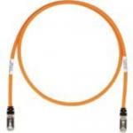 TX6A 10Gig - Patch cable - RJ-45 (M) to RJ-45 (M) - 20 ft - SFTP - CAT 6a - booted halogen-free snagless stranded - orange