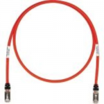 TX6 10Gig - Patch cable - RJ-45 (M) to RJ-45 (M) - 7 ft - STP - CAT 6a - booted stranded - red