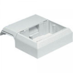 Pan-Way T-45 Surface Raceway Fitting - Cable raceway interface box - off white