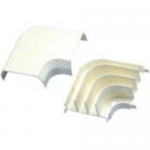 Pan-Way T-70 - Cable raceway right angle fitting - electric ivory