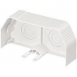 Pan-Way TG-70 Raceway Fittings - Cable raceway end cap - electric ivory