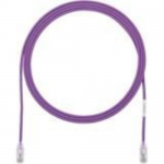 TX6-28 Category 6 Performance - Patch cable - RJ-45 (M) to RJ-45 (M) - 10 ft - UTP - CAT 6 - booted halogen-free stranded - violet
