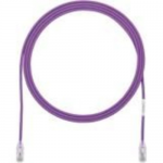 TX6-28 Category 6 Performance - Patch cable - RJ-45 (M) to RJ-45 (M) - 2 ft - UTP - CAT 6 - IEEE 802.3at - booted halogen-free snagless stranded - violet