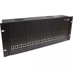 POWERED RACK/CHASSIS WITH DVI-D CAT6 STP TRANSMITTER