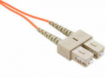 FIBER OPTIC PATCH CABLE LC-LC 50 125 MULTIMODE DUPLEX ORANGE 50M