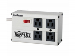 ISOBAR SURGE PROTECTOR METAL 4 OUTLET 6FEET CORD 3330 JOULES
