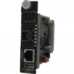 CM-110-M1SC2D - 10/100 Fast Ethernet Media and Rate Converter Managed Module - 1 x Network (RJ-45) - 1 x SC Ports - No - 10/100Base-TX 100Base-BX - Internal
