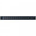 Network 24Port Managed Layer 2 Fiber Switch 2GbE/2Shared/SFP Ports