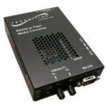Networks RS232 Copper to Fiber Media Converter with Remote Management - 1 x DB-9  1 x SC Duplex