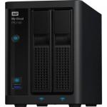 WD TDSourcing My Cloud PR2100 WDBBCL0080JBK - NAS server - 2 bays - 8 TB - HDD 4 TB x 2 - RAID 0 1 JBOD - RAM 4 GB - Gigabit Ethernet