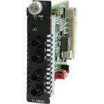 C-1000MM-S2ST160 Media Converter - 2 x ST Ports - 1000Base-SX 1000Base-ZX - Internal