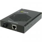 S-1110PP-S1SC10D-XT Media Converter - 1x PoE+ (RJ-45) Ports - 1 x SC Ports - No - Single-mode - 10/100/1000Base-T 1000Base-BX-D - Desktop Wall Mountable Rail-mountable Rack-mountable
