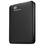 WD ELEMENTS PORTABLE 750GB EXTERNAL HDD