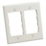 MINI-COM Classic and Executive Faceplate Frames - Faceplate - electric ivory - 2-gang