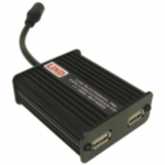 THIS LIND DUAL RUGGED USB ADAPTER IS SPECIFICALLY DESIGNED TO POWER YOUR ELECTRO