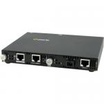 SMI-1000-S1SC40U Media Converter - 2 x Network (RJ-45) - 1 x SC Ports - Yes - 10/100/1000Base-T 1000Base-BX