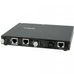 SMI-100-S1SC20U Media Converter - 2 x Network (RJ-45) - 1 x SC Ports - Yes - 100Base-FX 100Base-TX - External Rail-mountable Rack-mountable Wall Mountable