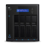 MY CLOUD BUS EX4100 SERIES NAS 0TB RAID 0/1/5/10 GBE 2BAY with INTEL