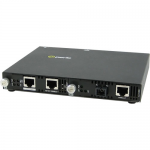 SMI-1000-S1SC10U Gigabit Ethernet Media Converter - 2 x Network (RJ-45) - 1 x SC Ports - Yes - 1000Base-T 1000Base-BX - External Rail-mountable Rack-mountable Wall Mountable